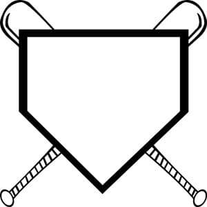 Baseball Monogram SVG Download
