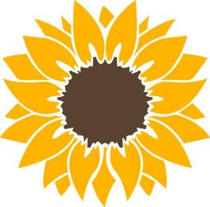 Sunflower SVG Download