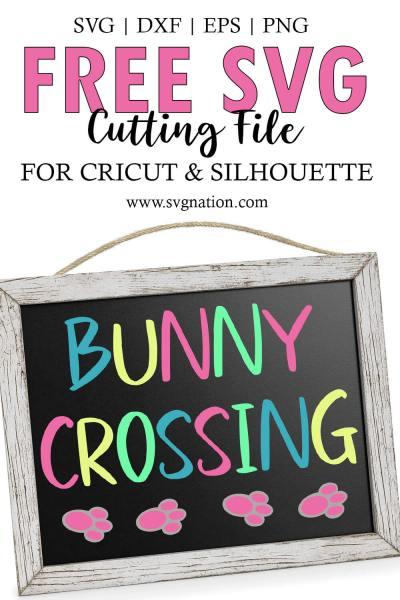 Bunny Crossing SVG