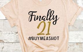 Finally 21 Shirt