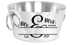 Mr. and Mrs. Monogram SVG File