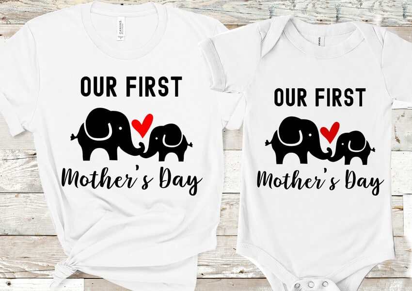 Our First Mother's Day SVG