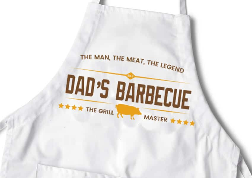 Dad's Barbecue SVG Cutting File