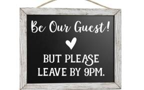 Be Our Guest House Decor