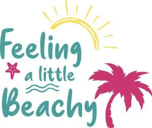 Feeling a Little Beachy SVG