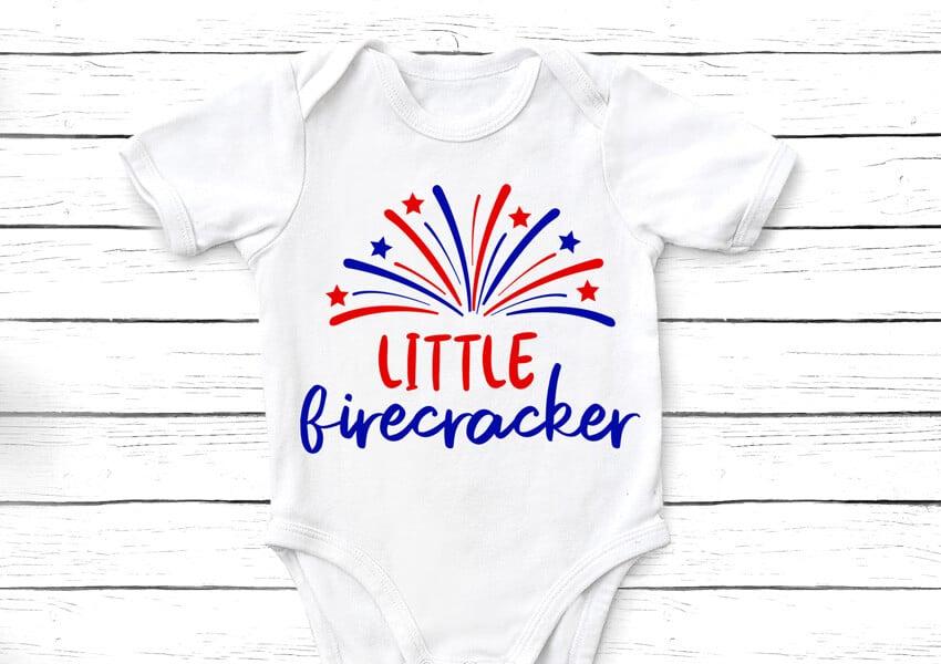 Little Firecracker onesie