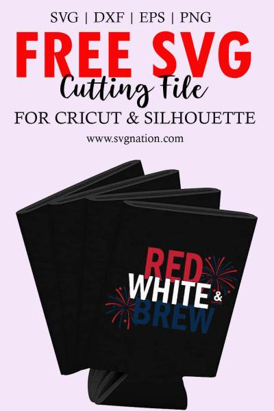 Red White and Brew SVG File