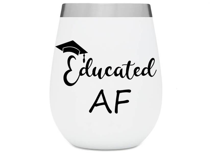 Educated AF Free SVG Cut File