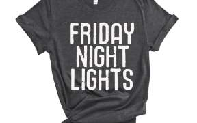 Friday Night Lights SVG File