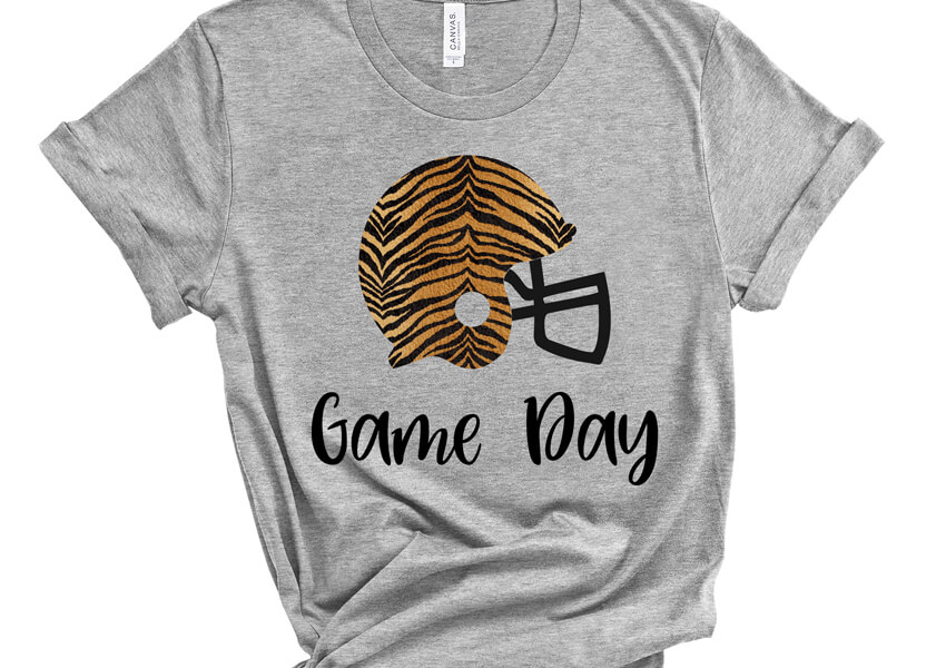Game Day Football SVG File