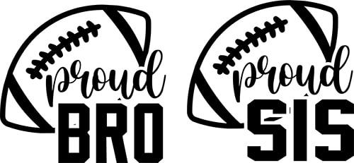 Football Proud Bro Free SVG File