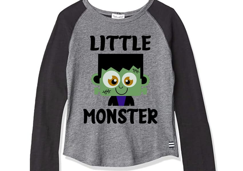 Little Monster Halloween SVG