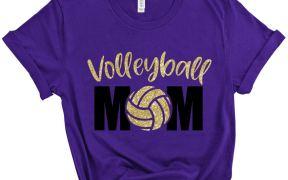 volleyball mom shirt svg