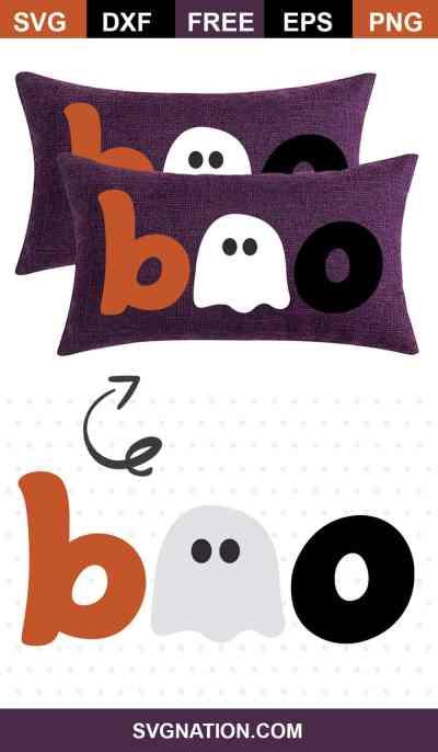 Boo SVG file