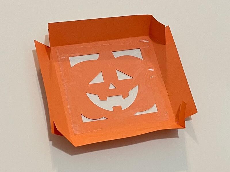 Pumpkin Halloween Treat Box SVG