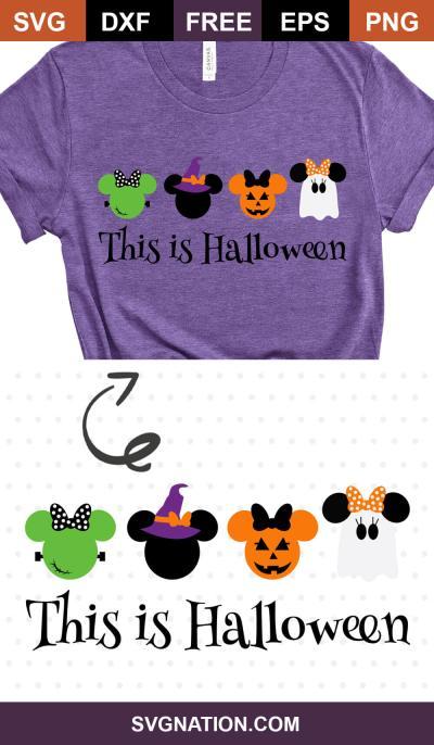This is Halloween SVG design