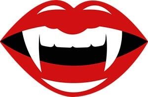 vampire lips free svg