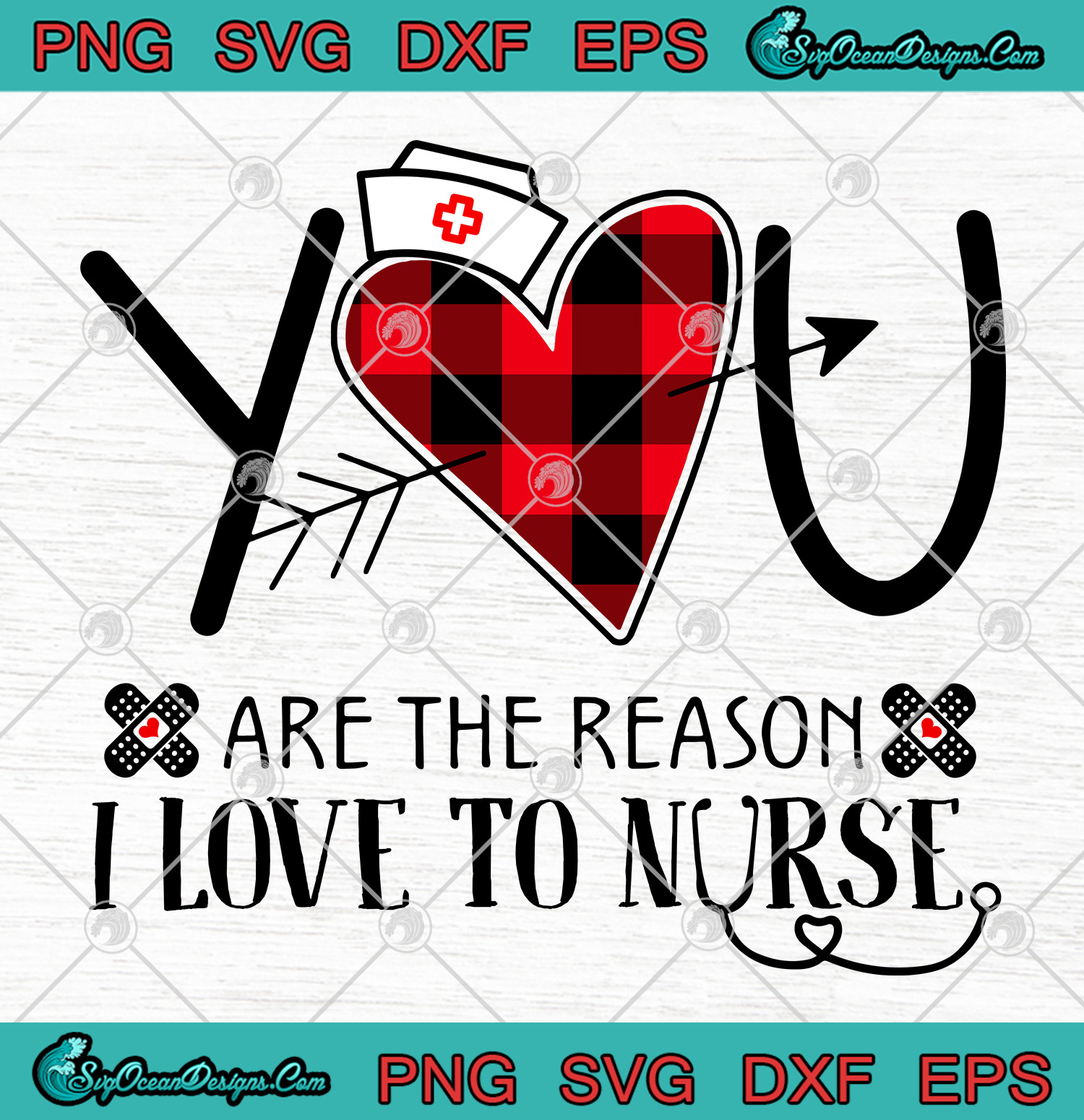 Download You Are The Reason I Love To Nurse SVG PNG-Nurse SVG ...