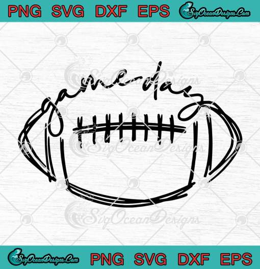 Game Day Sports Lovers American Football svg cricut