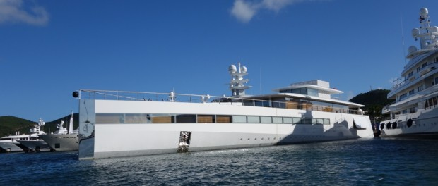 Venus Steve Jobs And Laurene Powell Jobs Yacht In Sint