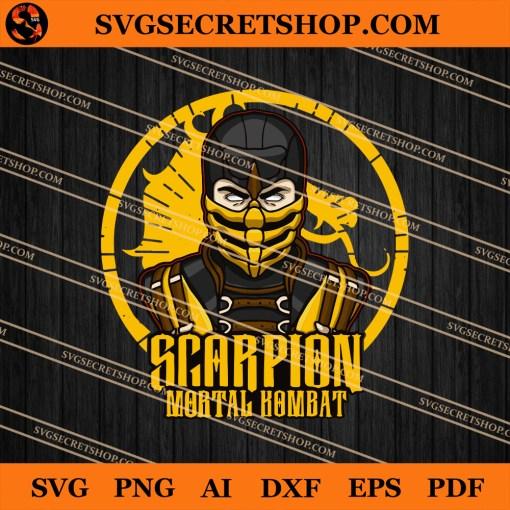 Scorpion Mortal Kombat SVG