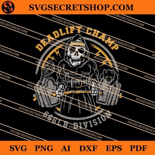Deadlift Champ SVG