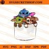 Baby Yoda Gizmo Stitch SVG