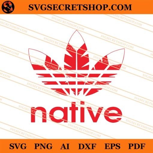 Native Adidas Logo SVG
