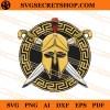 Spartan Helmet SVG