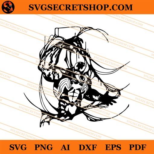 Venom Silhouette SVG