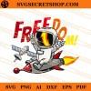 Astronaut Freedom SVG