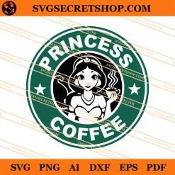 Princess Coffee SVG