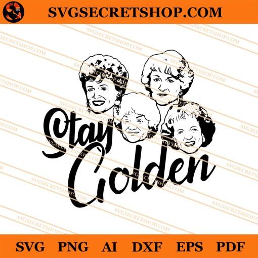 Golden Girl SVG