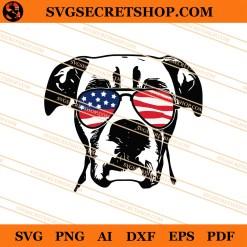 4th Of July Boxer Dog SVG