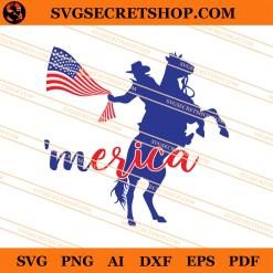 4th Of July Cowboy SVG