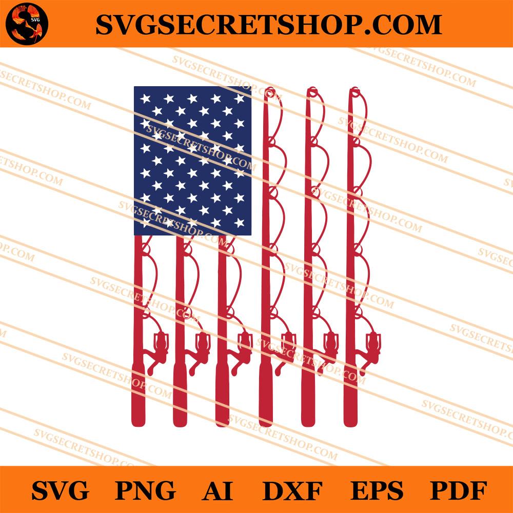 Download Fishing American Flag Svg Fishing Svg American Flag Svg