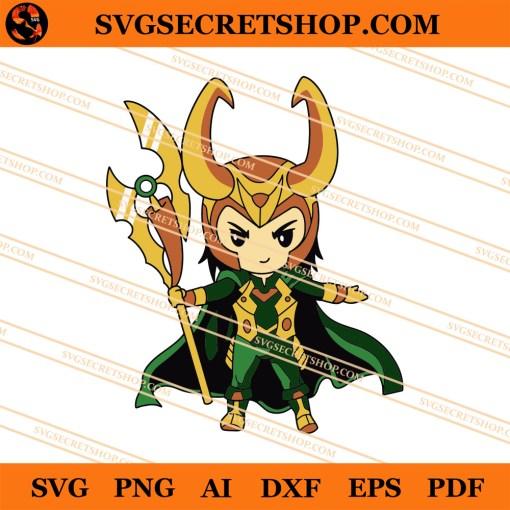 Loki Chibi SVG