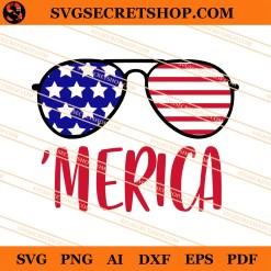 Merica Glasses SVG