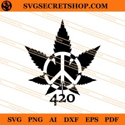 Weed Of Peace SVG