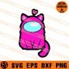 Among Us Cat SVG