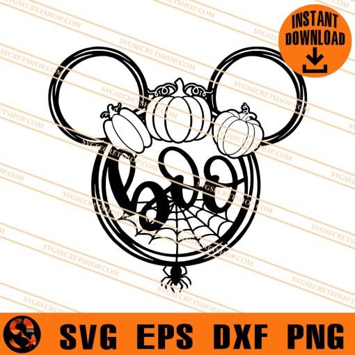 Boo Disney Halloween SVG