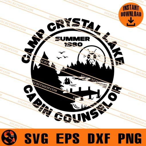 Camp Crystal Lake Cabin Counselor SVG