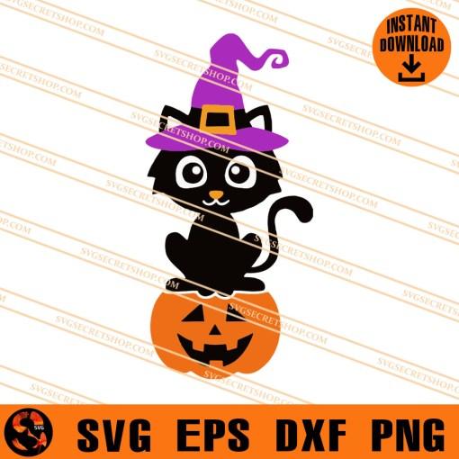 Cat Halloween SVG