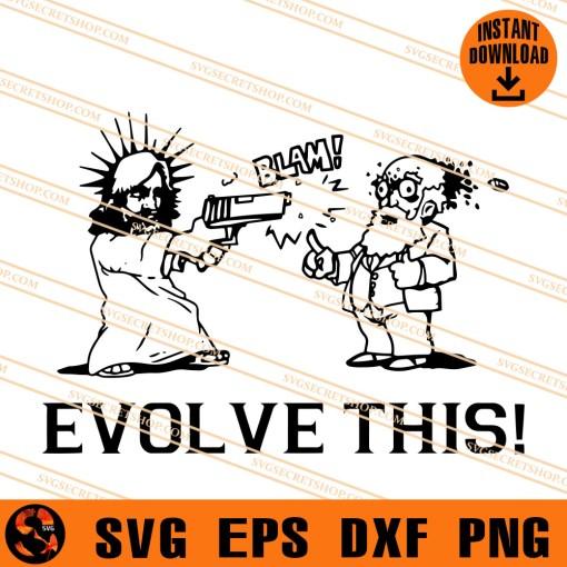 Evolve This Paul Movie SVG