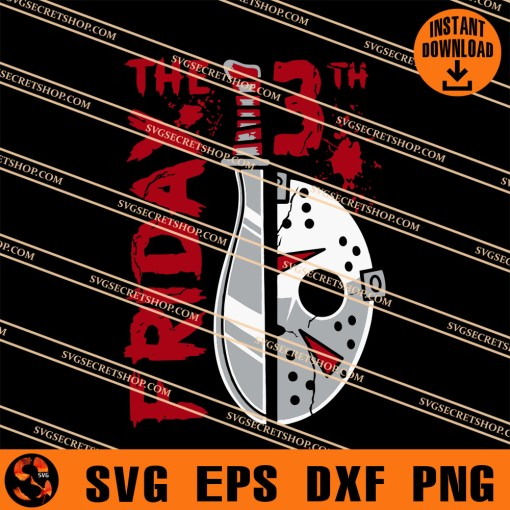 Friday The 13th SVG