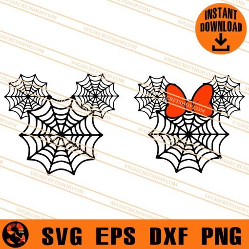 Mickey Spiderwebs SVG