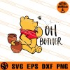 Pooh Oh Bother SVG