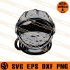 Space helmet SVG