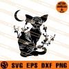 Sphynx cat SVG