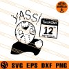 Thursday the 12th SVG